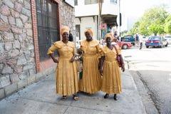 Cantores étnicos das mulheres afro-americanos imagem de stock