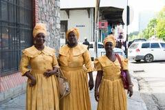Cantores étnicos das mulheres afro-americanos fotos de stock