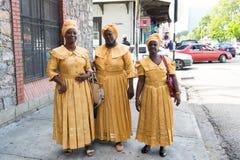 Cantores étnicos das mulheres afro-americanos imagem de stock royalty free