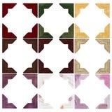 Cantos da foto - cores Fotografia de Stock Royalty Free