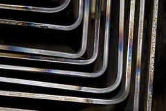 Cantos de prata Imagens de Stock