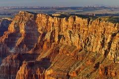 Cantos del barranco en el punto de Navajo, Grand Canyon Foto de archivo
