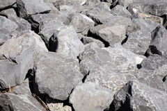 Cantos rodados de la roca Imagen de archivo