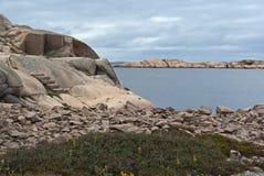 Cantos rodados del granito Foto de archivo libre de regalías