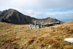 Cantos rodados en el pico de Placlive, Tatras Fotos de archivo