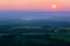 Cantos y valles Fotografía de archivo