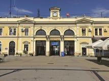 Cantral stacja kolejowa w Belgrade, Serbia Obraz Royalty Free