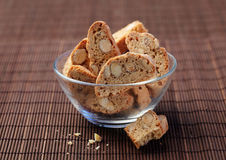 Cantucci cakes Royalty Free Stock Photos