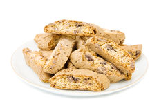 Cantuccini al cioccolato Royalty Free Stock Photos