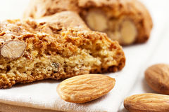 Cantuccini biscuits Stock Images
