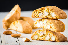 Cantuccini biscuits Stock Photo