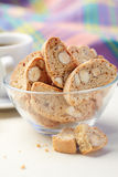 Cantuccini cookies Royalty Free Stock Photos