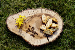Cantuccini cookies Royalty Free Stock Photography