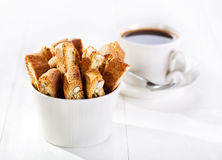 Cantuccini cookies Stock Photography