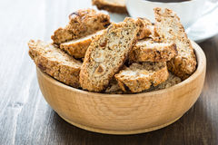 Cantuccini cookies Royalty Free Stock Images