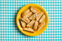 Cantuccini cookies Stock Image