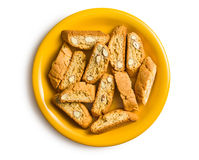 Cantuccini cookies Royalty Free Stock Photo