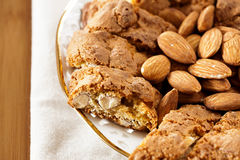 Cantuccini pastries Royalty Free Stock Photography