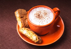 Cantuccini cookies Stock Photo