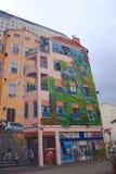 Canuts的壁画在利昂在Croix鲁塞的区 图库摄影