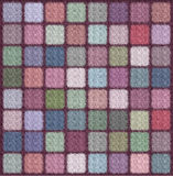 Canvas. Painted pastel designs, patterns and imaging Stock Images