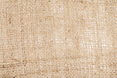 Canvas Background – Burlap Royalty Free Stock Photography