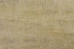 Canvas background, grid pattern linen texture. Cloth Royalty Free Stock Photography