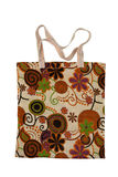 Canvas bag with a pattern Stock Image