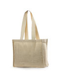Canvas beach bag Royalty Free Stock Photo