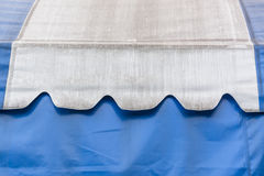 Canvas blue and white Royalty Free Stock Image
