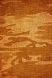 Canvas with camouflage texture Royalty Free Stock Images