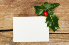 Canvas and Christmas motif Royalty Free Stock Image