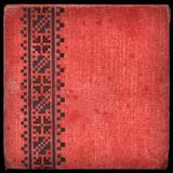 Canvas cover - album 1. Vintage canvas cover with space for text or image Stock Photography