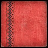 Canvas cover - album 2. Vintage canvas cover with space for text or image Royalty Free Stock Photography