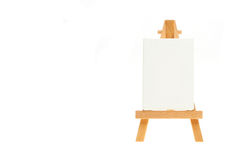 Canvas on easel Royalty Free Stock Photography