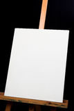 Canvas on easel Royalty Free Stock Photo