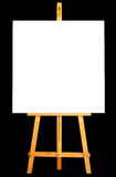 Canvas Easel Royalty Free Stock Photography