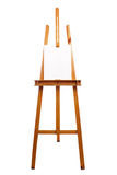 Canvas on easel Stock Image