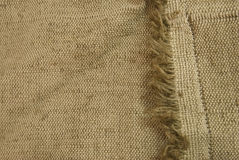 Canvas fabric texture Stock Photography
