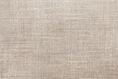 Canvas fabric texture. Rustic canvas fabric texture in natural color Royalty Free Stock Photos