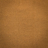 Canvas fabric texture. Rustic canvas fabric texture in orange color. Square shape Royalty Free Stock Images