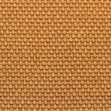 Canvas fabric texture. Rustic canvas fabric texture in orange color. Square shape Royalty Free Stock Photo