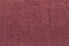Canvas fabric texture. Rustic canvas fabric texture in purple color. Square shape Stock Photography