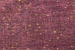 Canvas fabric texture. Rustic canvas fabric texture in purple lines color Stock Photos