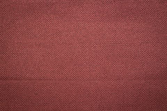 Canvas fabric texture. Rustic canvas fabric texture in red brick color. Square shape Stock Image