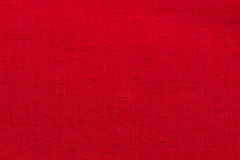 Canvas fabric texture. Rustic canvas fabric texture in red color Stock Photo