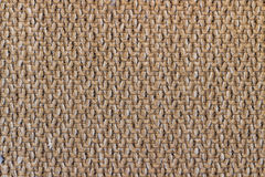 Canvas fabric texture. Rustic canvas fabric texture in terra color. Square shape Stock Photos