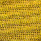 Canvas fabric texture. Rustic canvas fabric texture in yellow color. Square shape Stock Image