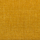 Canvas fabric texture. Rustic canvas fabric texture in yellow color. Square shape Royalty Free Stock Photo