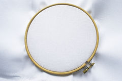 Canvas on hoop Royalty Free Stock Photography